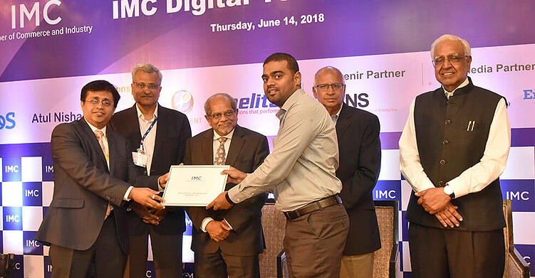 Datamatics Receives Special Recognition at the IMC Digital Technology Awards 2017-1