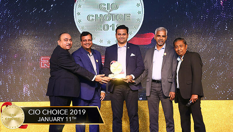 Datamatics TruBot Wins the CIO Choice 2019 Recognition for Robotic Process Automation-1