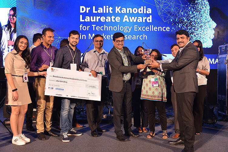 Dr. Lalit Kanodia Laureate Award for Technological Excellence recognized innovators of the Market Research industry-1