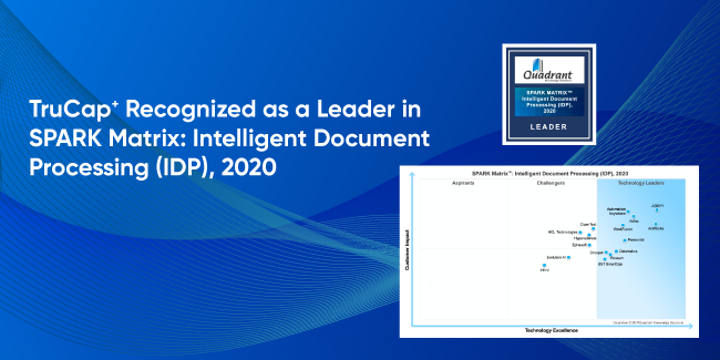 TruCap+-Recognized-as-a-Leader-in-SPARK-Matrix-Intelligent-Document-Processing-(IDP),-2020