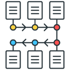 Robotic Process Automation with visual workflow
