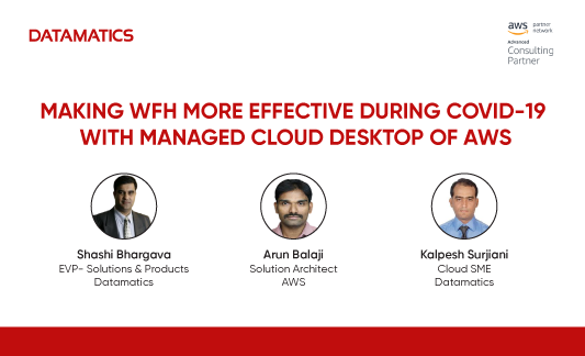 Making WFH more effective during Covid-19 with Managed Cloud Desktop of AWS Webinar