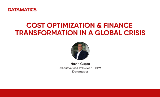 Cost Optimization and Finance Transformation in global Crisis Webinar