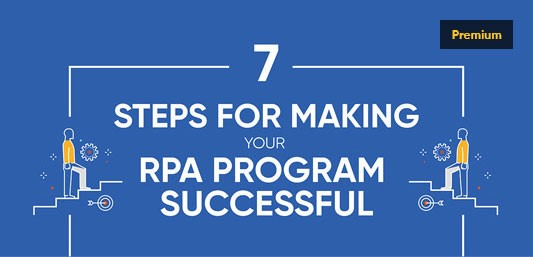 7 Steps for Making your RPA Program Successful