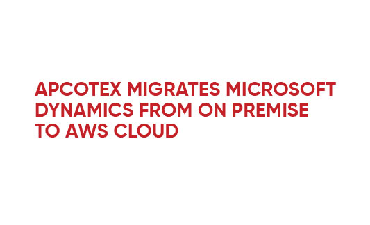 Apcotex Migrates MS Dynamics From On Premise To Cloud Infographic