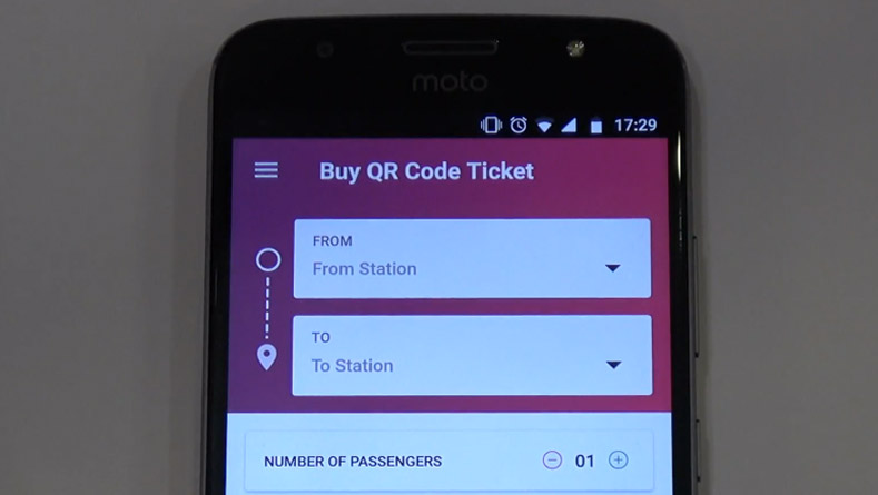 Automated-Fare-Collection-QR-Code