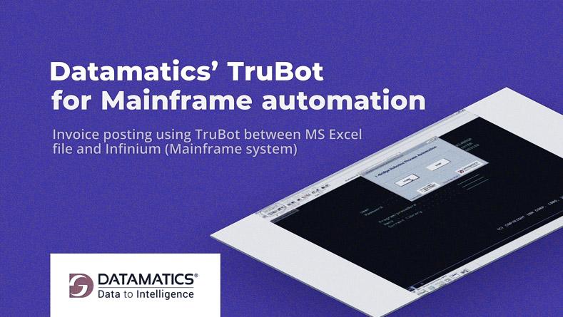 Datamatics TruBot for Mainframe Automation