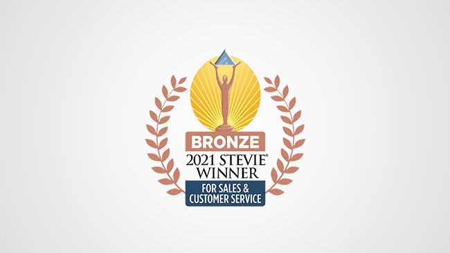 Datamatics TruBot won Bronze Awards at the Stevie Awards for Sales & Customer Service