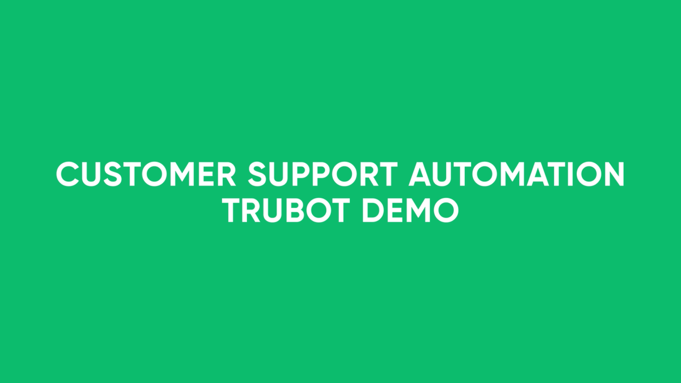 Customer Support Automation - RPA DEMO