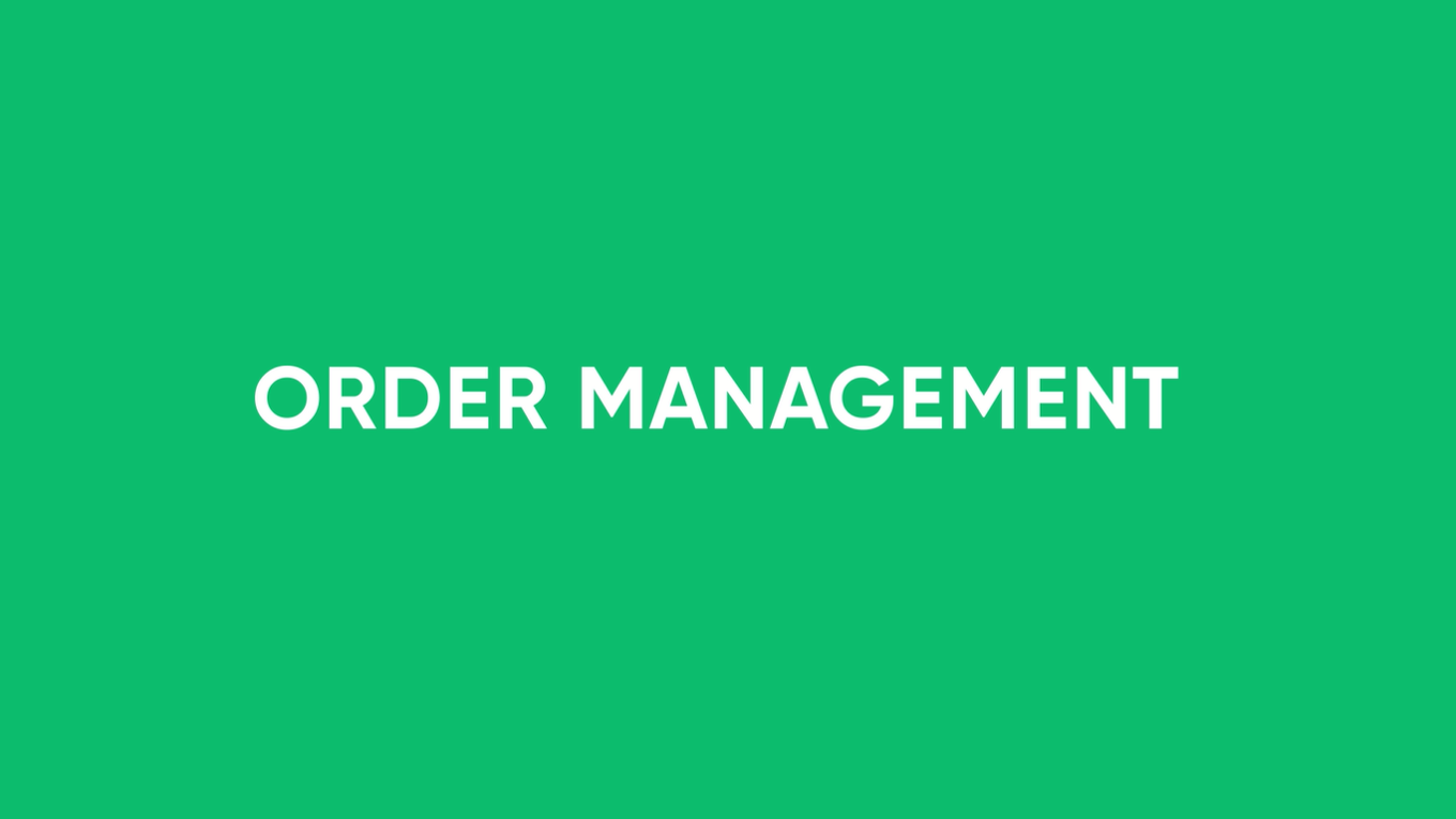 Order Management using RPA Demo