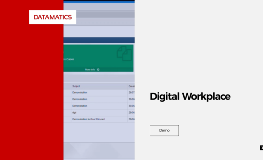 Demo on Datamatics Digital Workplace Solution