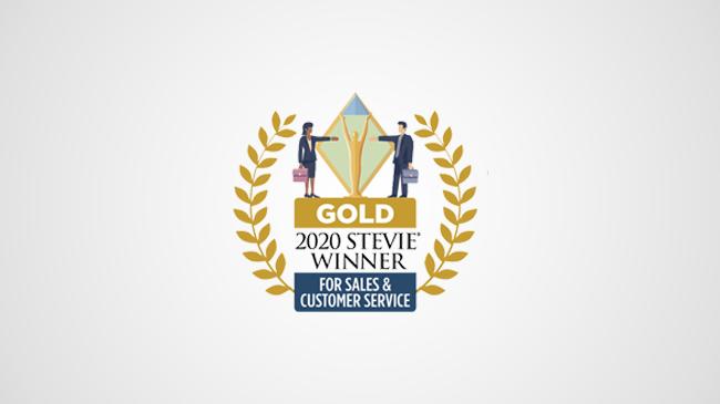 GOLD-Stevie-Awards-for-Sales-&-Customer-Service-2020