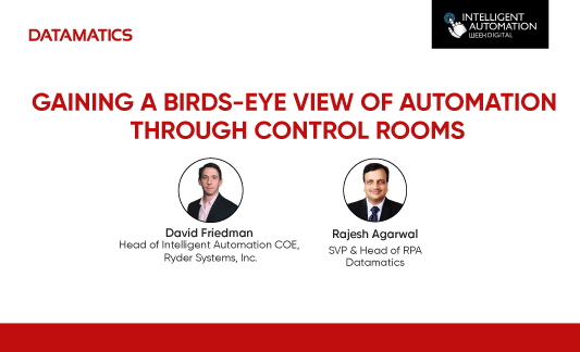 Gaining a birds-eye view of automation through control rooms