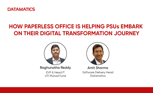 How Paperless Office Is Helping PSUs Embark On Their Digital Transformation Journey Webinar