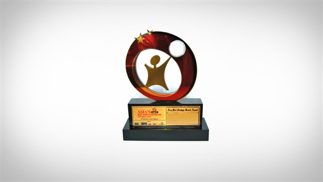 HR Strategy Award & HR Leadership Award at Asia's Best Employer Brand Awards 2010