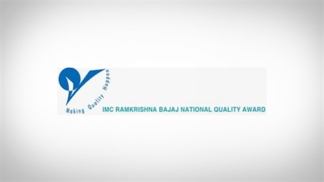 Won the IMC Ramkrishna Bajaj National Quality Award