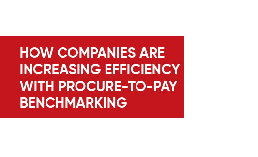 How Companies are Increasing Efficiency with P2Pay Benchmark Infographics