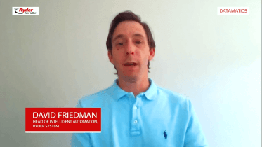 David Friedman, Intelligent Automation Head, Ryder Systems