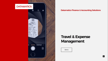 Demo of Travel & Expense Management Solution