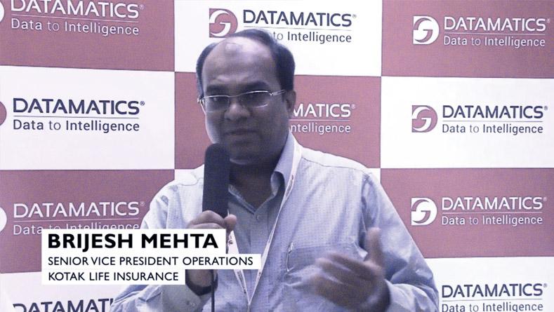 Testimonial - Brijesh Mehta - SVP Operations, Kotak Life Insurance