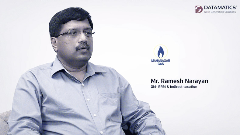 Client Testimonials - Ramesh Narayan, GM-RRM & Indirect Taxation, Mahanagar Gas Ltd.