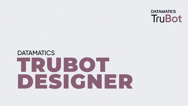 TruBot Designer Architectural Overview