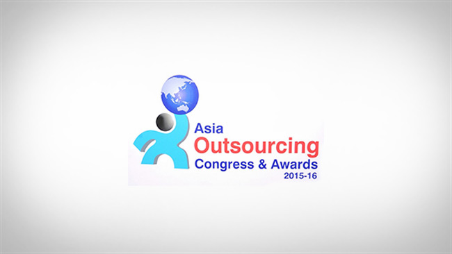 asia outsourcing congress awards 2015-16