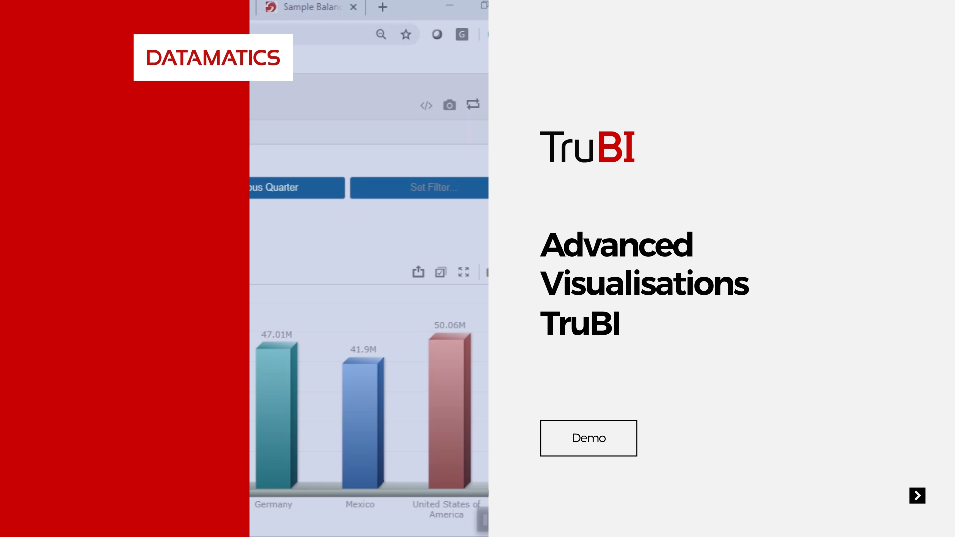 screenshot Advanced-Visualisations-TruBI