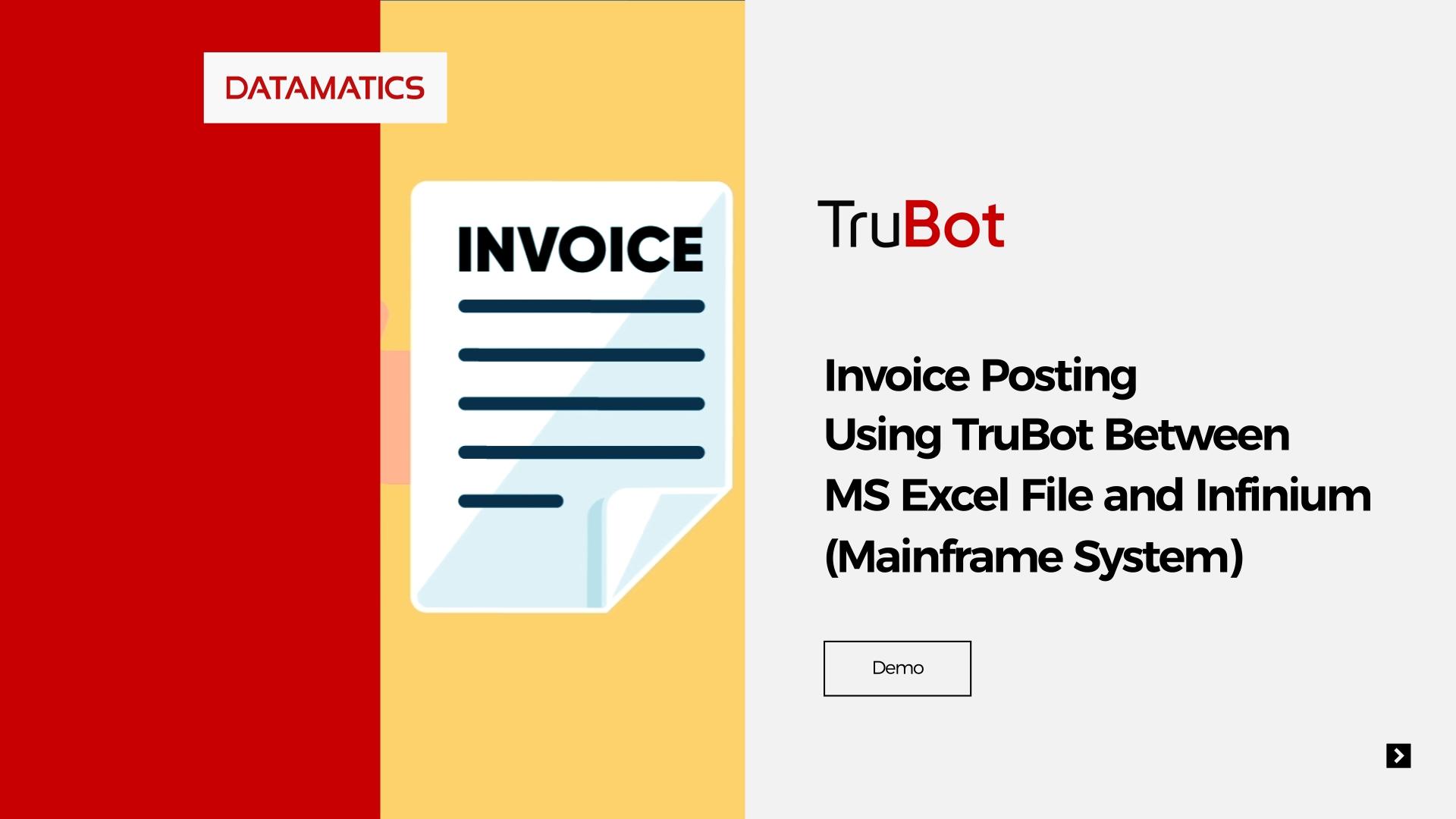 screenshot Infinium-Automation-Process