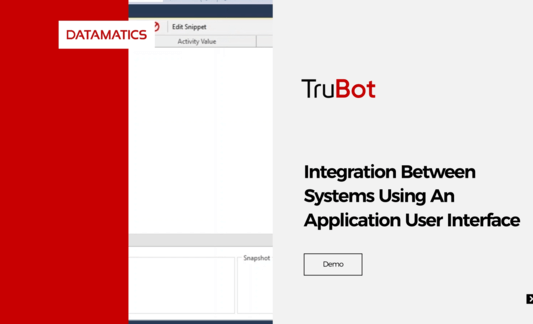 Integration Between Systems Using An Application User Interface