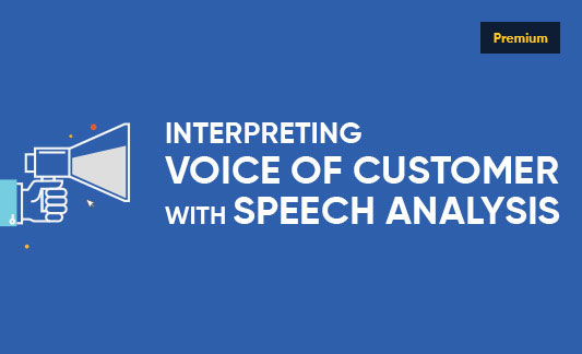 Interpreting Voice of Customer with Speech Analysis - Infographic